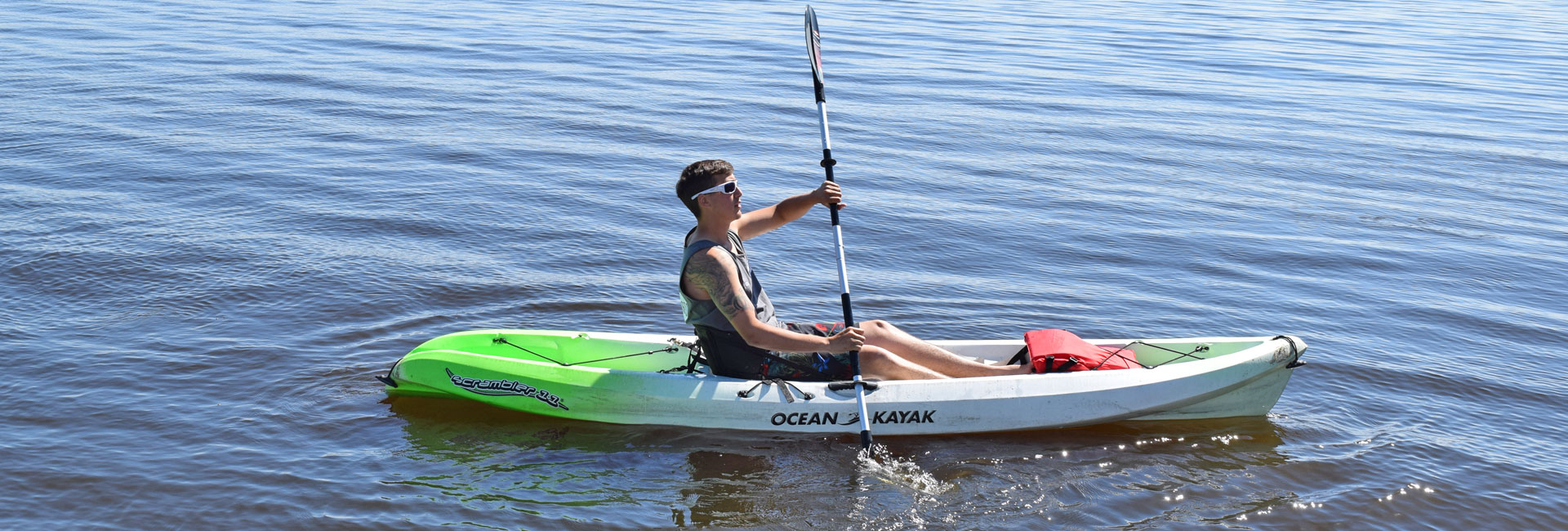 Ocean Kayak Rental on Castle Rock Lake