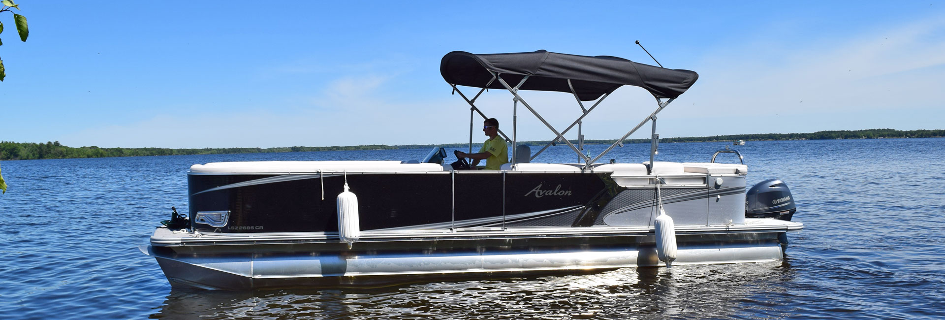 Avalon Pontoon Rentals on Castle Rock Lake